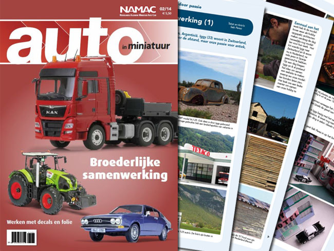 Post image for ModelJunkyard on Auto In Miniatuur Magazine – What is NAMAC ?