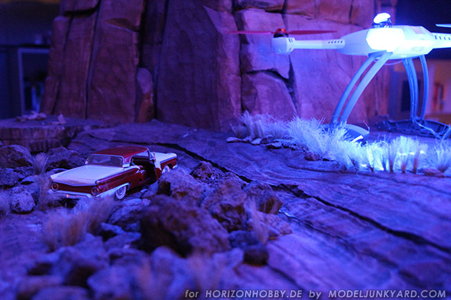 Monument Valley Diorama - The Roswell incident scenario